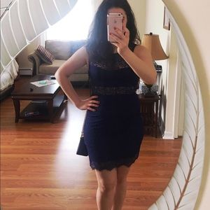 🖤Navy Blue Dress